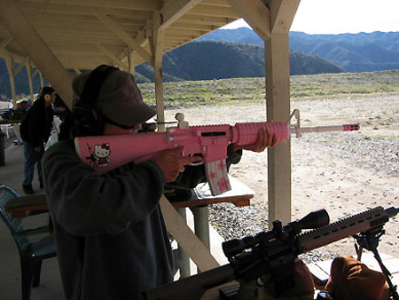 Rifle de asalto de Hello Kitty